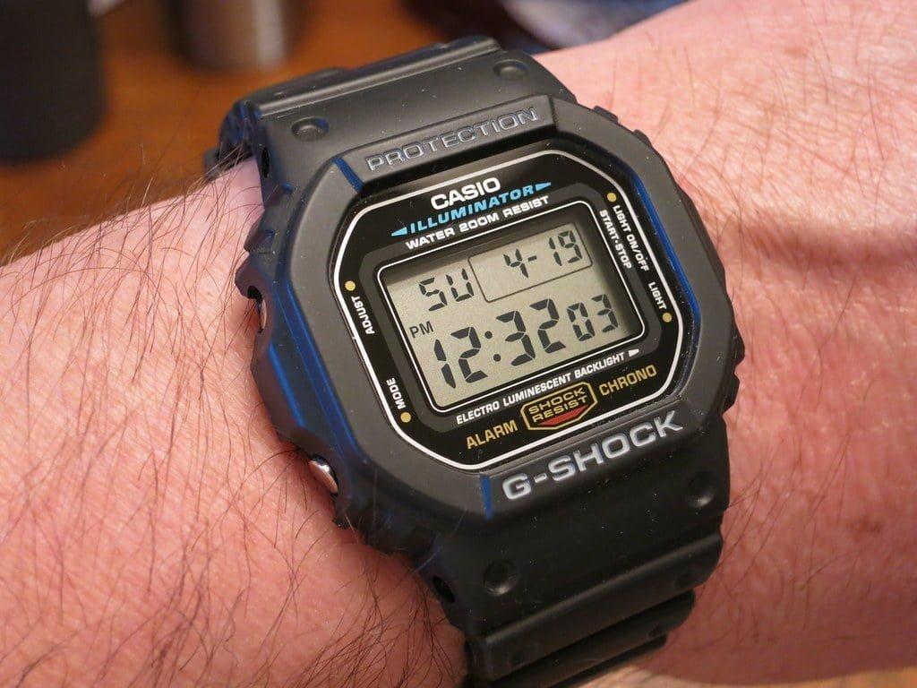 Casio G-Shock: Todo sobre el robusto reloj de cuarzo